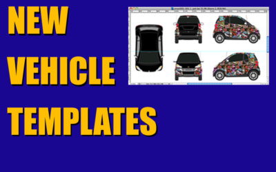 New Vehicle Templates – Four More